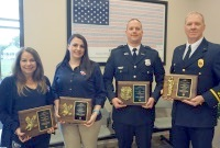 Police Officer, Firefighter, Dispatchers of Year Named