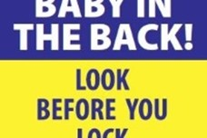 Police Launch 'Look Before You Lock' Campaign