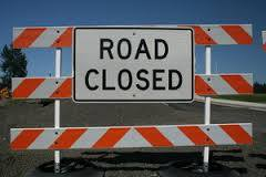 Falling Water Road Closed for Culvert Replacement
