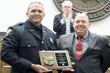 Police Officer, Firefighter, Dispatcher of Year Named