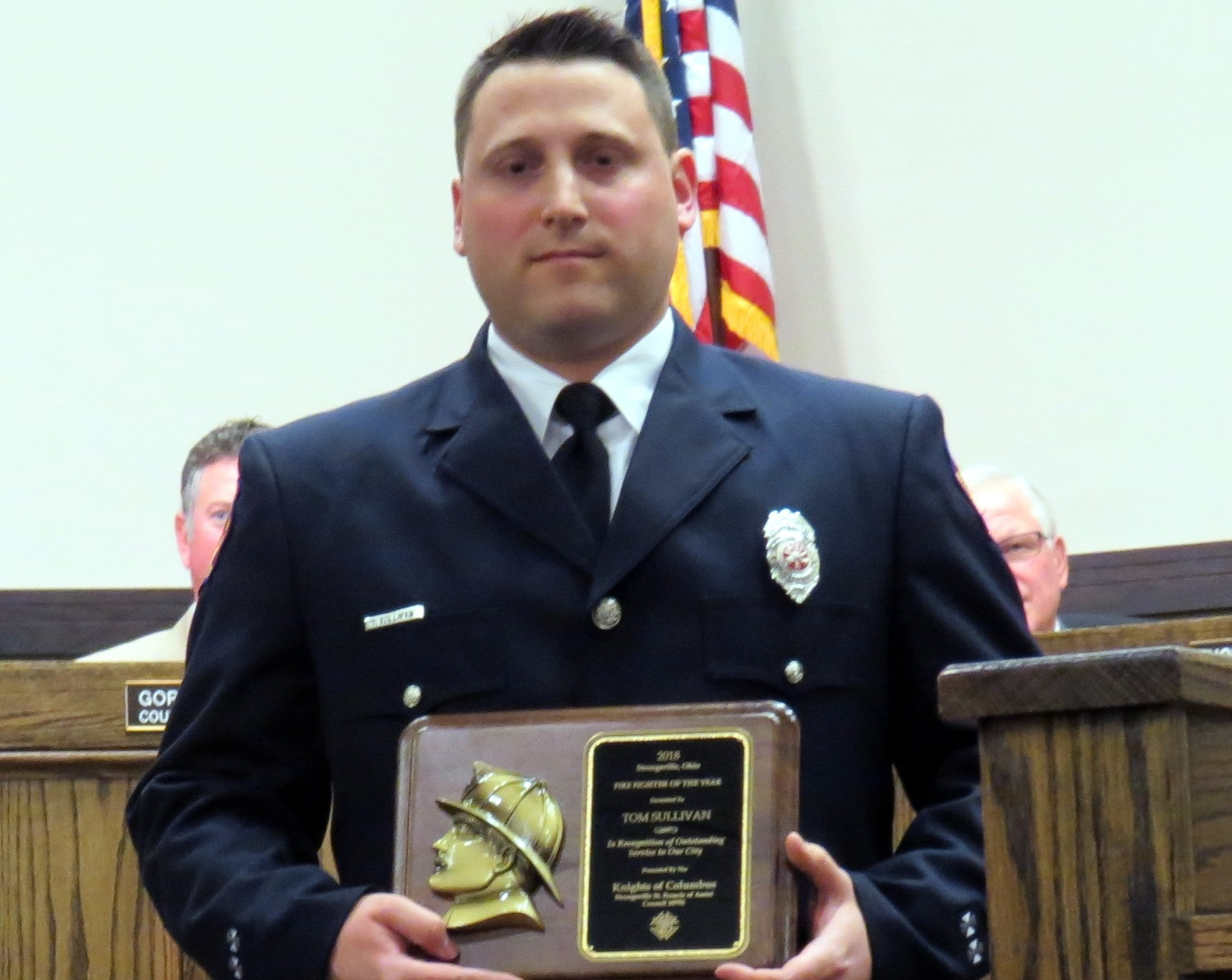 Sullivan is Firefighter of the Year