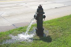 Fire Hydrant Flushing is Under Way