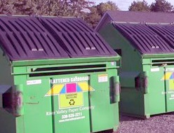 Bins for Cardboard, Paper Recycling to Stay Put