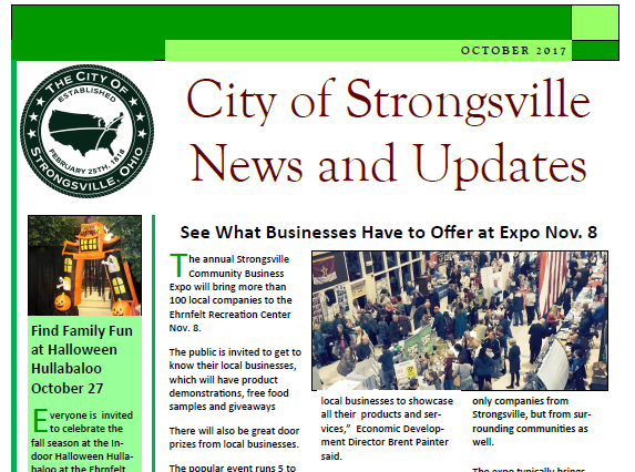 Read the October Newsletter Here