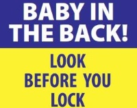 Remember to 'Look Before You Lock'