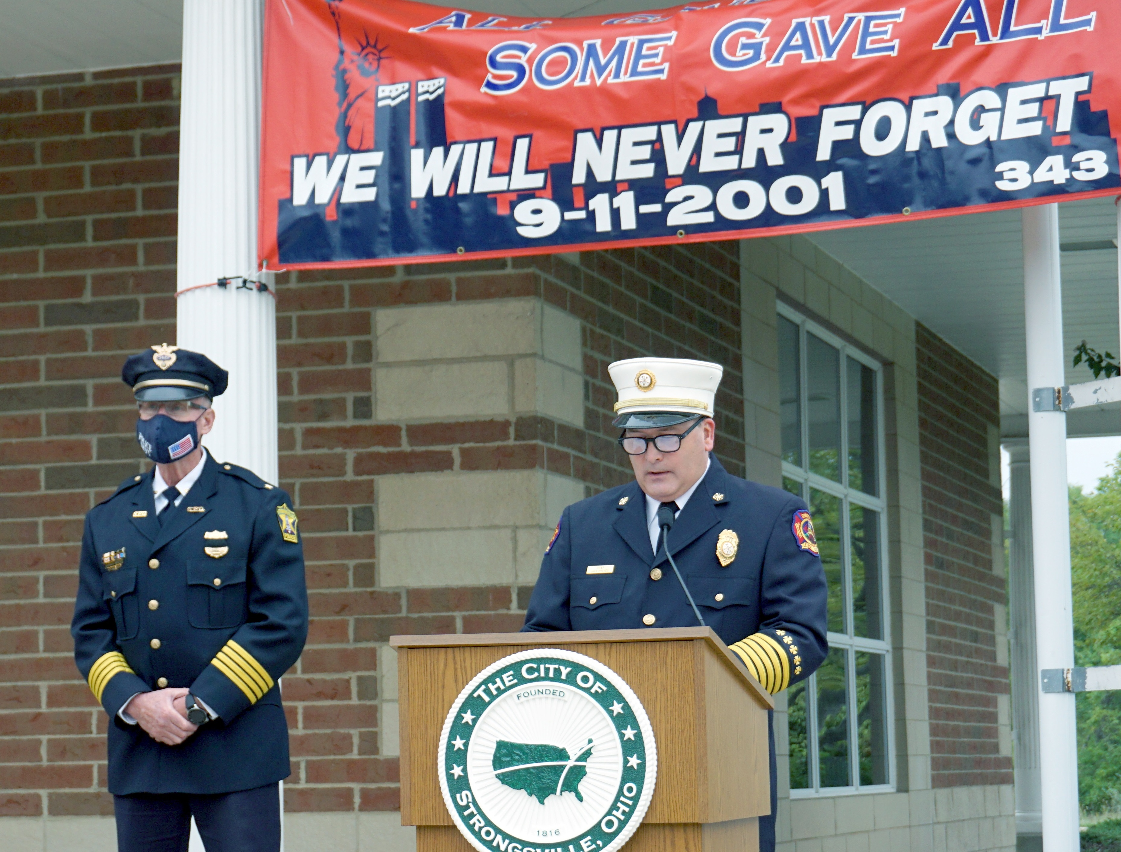 Strongsville Recalls 9/11 with Ceremony