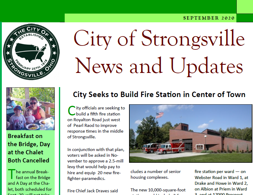 Read the September Newsletter Here