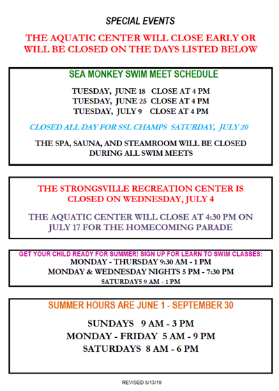 64eb05fd62d Pool and Open Swim Schedule
