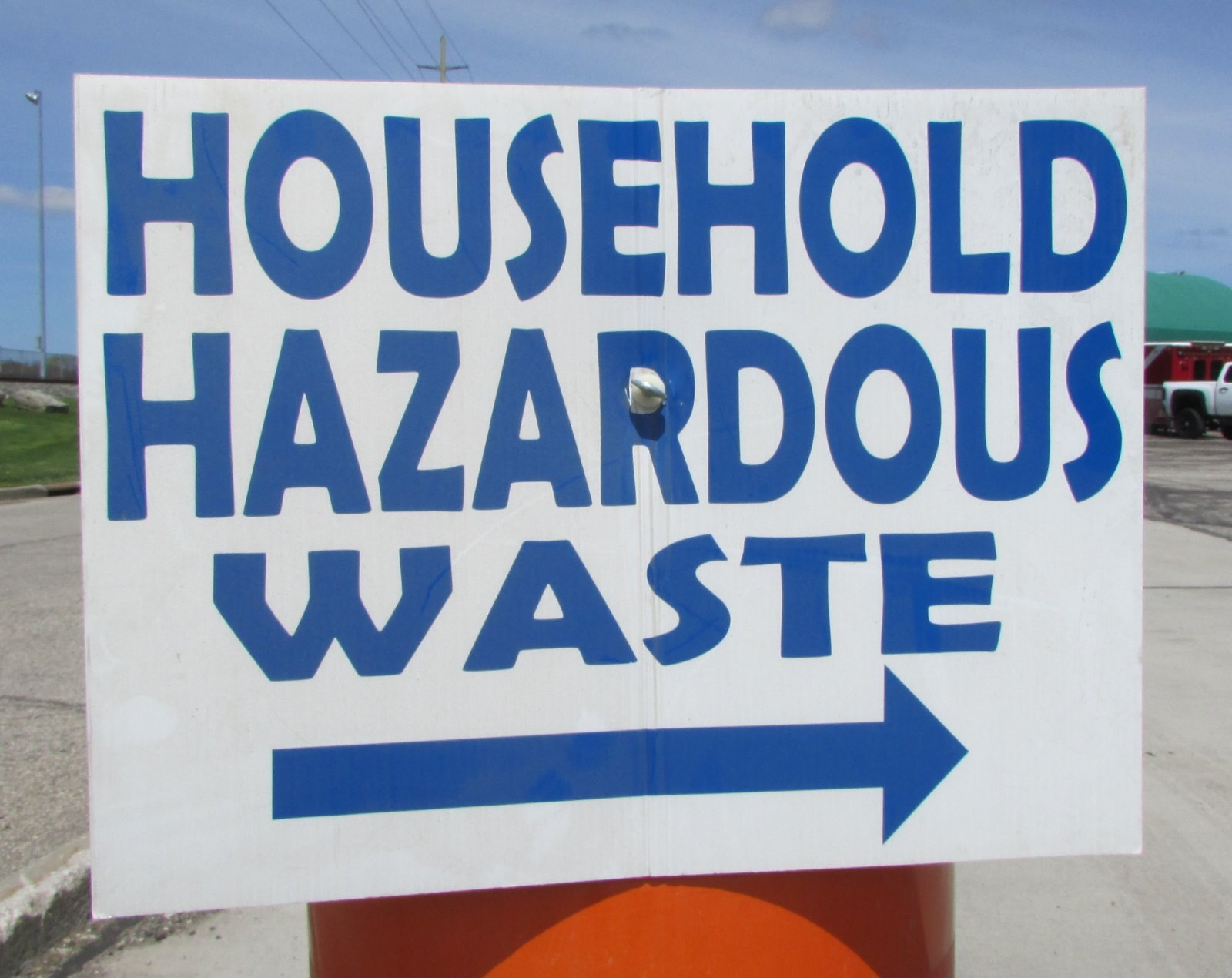 Drop Off Household Hazardous Waste Sept. 10-11
