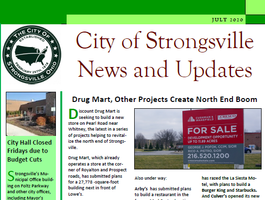 July Newsletter is Available